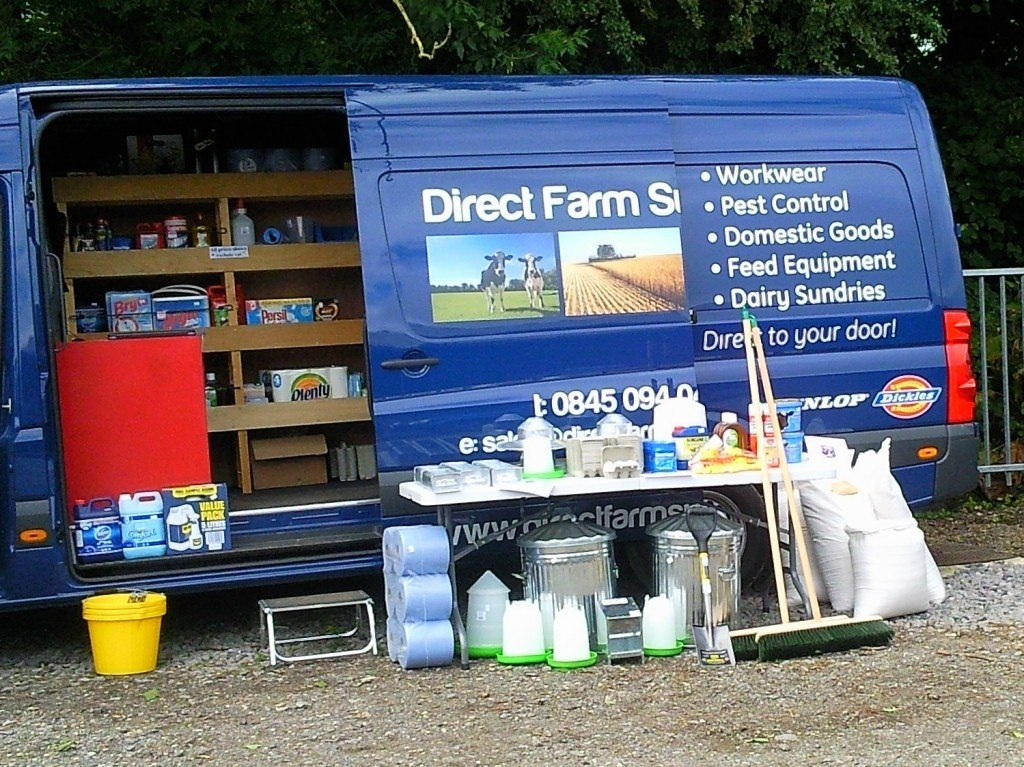 Direct farm supplies at cirencester market