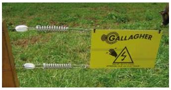 Gallagher Electric fence Legal info