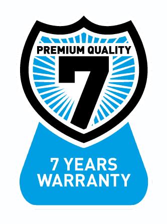 7 year warranty on all Gallagher energiser