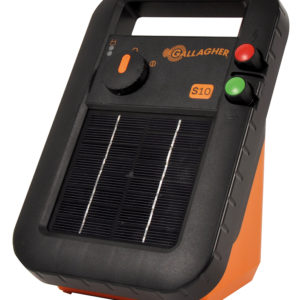 Gallagher S10 solar electric fencing energiser
