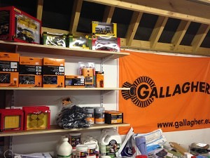 Gallagher electric fencing display