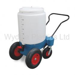 Wydale 4 wheel milk trolley