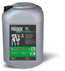 Progiene dual defence lactic acid teat care