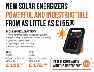 Gallagher solar energisers