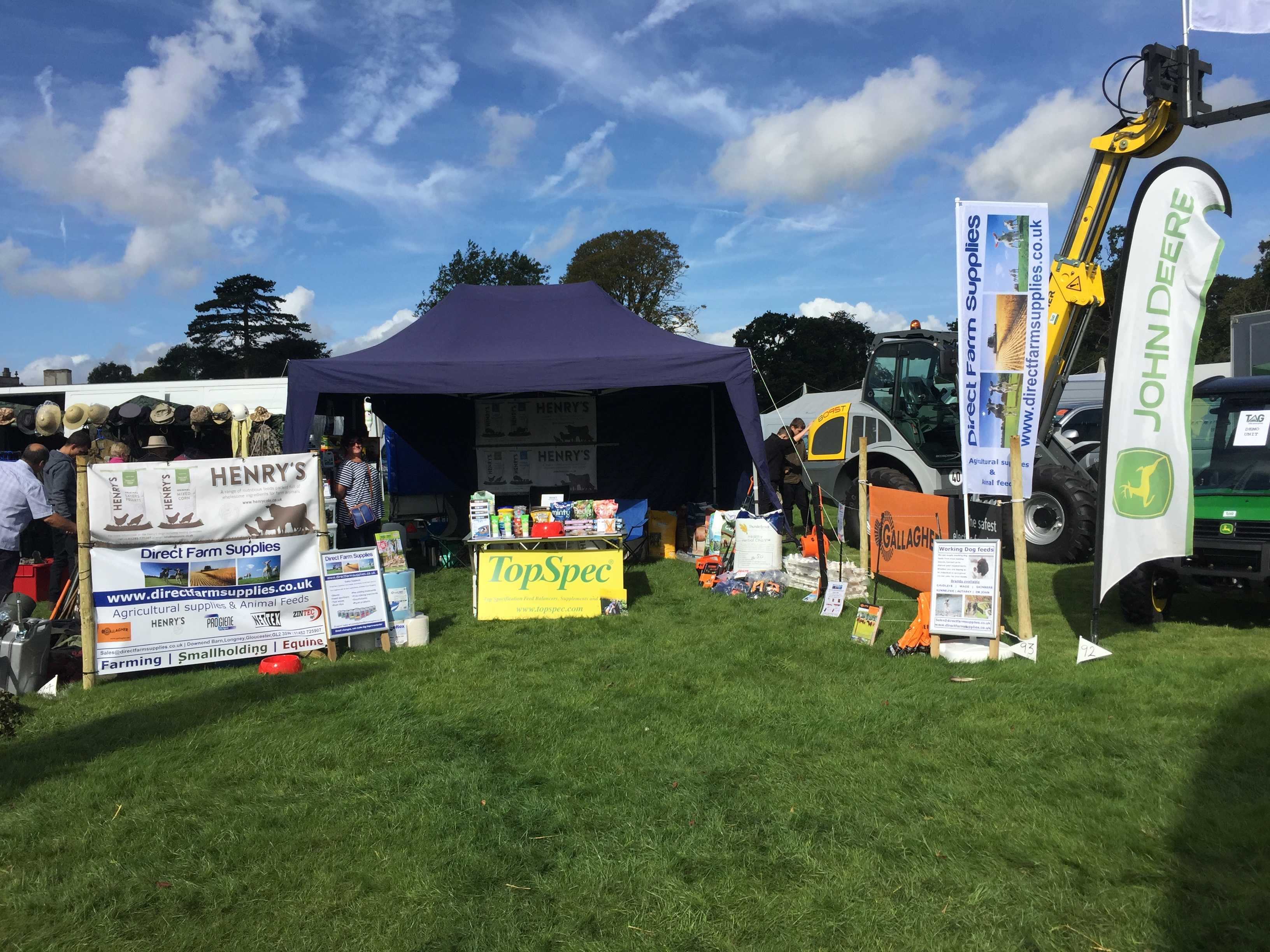 Direct farm supplies at frampton country fair