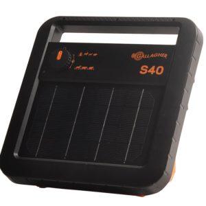 Gallagher s40 solar energiser