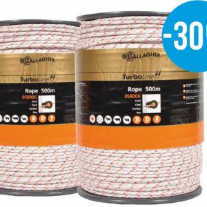 Gallagher turboline rope