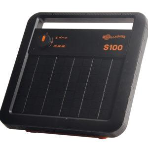 Gallagher S100 solar fence energiser