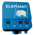 Elephant mains electric fence energisers