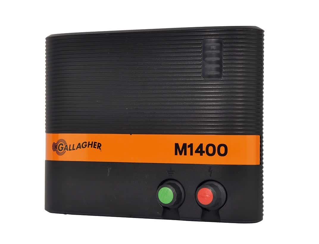 Gallagher M1400 mains energiser